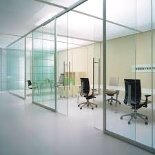 cloison vitr bureau cloison de bureau vitrée bord à bord espace cloisons alu ile de
