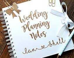 wedding organiser wedding planner book etsy uk