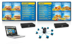 origin pro digital menu board origin menu boards