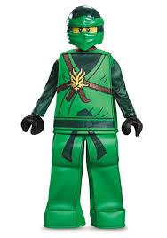 Kids Lego Halloween Costume Prestige Ninjago Lloyd Boys Costume