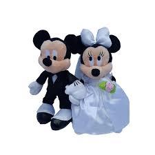 mickey and minnie wedding disney mickey minnie mouse plush wedding set 9