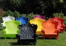 Patio Armchair Purple Patio Chairs Foter