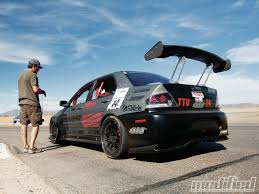 mitsubishi evo modded 2005 mitsubishi lancer evolution 8 5 ums tuning modified magazine