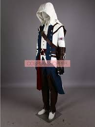 Assassins Creed Halloween Costume Kids White Deluxe Assassin U0027s Creed Iii Connor Kenway Cosplay Ac3