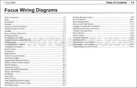 2008 ford focus wiring diagram wiring diagram