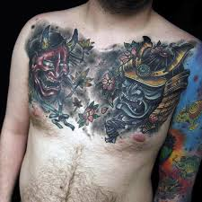 100 japanese samurai mask designs for samurai chest
