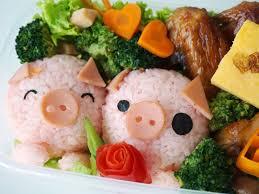 cuisine kawaii pinkypiggu kawaii piggies bento recipe