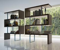 Dark Wood Bookshelves by Home Office Ideas Stylish Workroom Decorating Ideas With 4 Tier