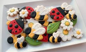 ladybug cookies bees and ladybug cookies www sweetsugarbelle 2012 flickr