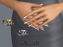 Wedding Ring Finger by Sims 3 Rings For The Ring Finger
