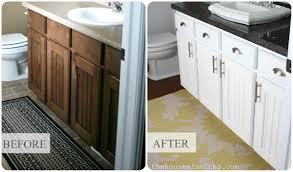 Repaint Bathroom Vanity by Master Bathroom Vanity Makeover