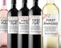 Good Wine For Gift Wedding Milestone Wine Labels Unique Wedding Gifts