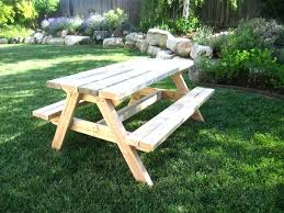8 foot picnic table plans picnic table with detached benches full size of picnic table plans