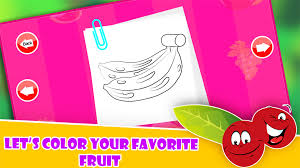 fruit pop coloring for toddler android apps on google play