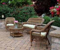 Wicker Patio Furniture Set Cool Epic Wicker Patio Furniture 73 With Additional Small Home