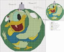 cross stitch craze mickey mouse and friends ornaments
