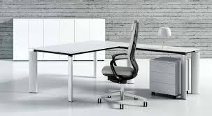 bureau verre blanc bureau en verre blanc 180 cm avec retour caisson 3