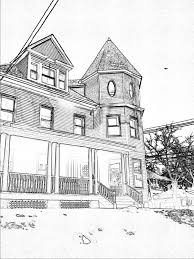 house 101 buildings and architecture u2013 printable coloring pages
