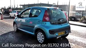 2006 peugeot 107 urban 1l antigua blue metallic ea56vxn for sale