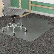 Exercise Floor Mats Over Carpet by Amazon Com Deflecto Supermat Clear Chair Mat Medium Pile Carpet