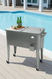 Oasis Outdoor Patio Furniture Garden Oasis 80qt Stainless Steel Patio Cooler
