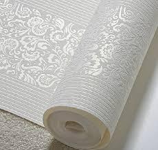 Wallpaper For Bedroom Walls Aliexpress Com Buy European Striped Floral Wallpaper 3d Embossed