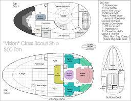 100 ship floor plan ex astris scientia the saucer rim on
