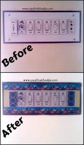 switchboard design for home creative mind khadija washitape switchboard diy refashion
