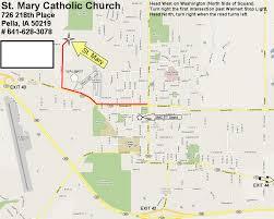 Washington Square Map by St Mary U0027s Catholic Church