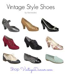 Comfortable Wide Womens Shoes Vintage Style Shoes By Aerosoles