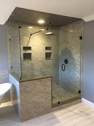 Frameless Shower Door Installation Shower Door Installation New Jersey Frameless Shower Door