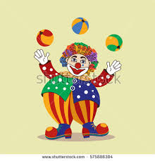 clowns juggling balls juggling balls stock images royalty free images vectors