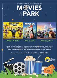 downtown albany presents movies in the park calendar visit