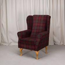 Tartan Armchairs Tartan Bedroom Armchairs Ebay