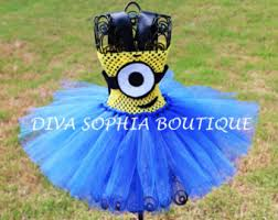 Minion Tutu Dress Etsy Minion Costume Etsy