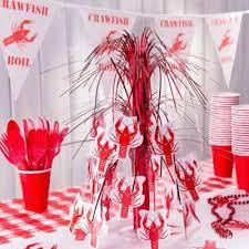 crawfish decorations crawfish table runner idea cajun crawfish boil ideas mardi