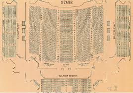 Vienna Opera House Seating Plan by 100 Grand Opera House Seating Plan Rayman Autidorium Nashville