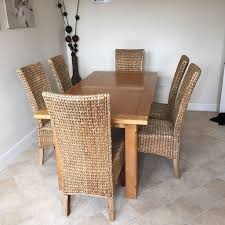 Wicker Dining Room Chairs Indoor Wicker Dining Chairs And Table U2014 Outdoor Chair Furniture Wicker