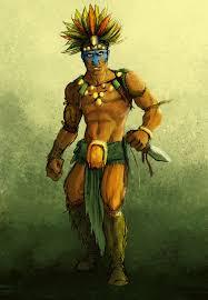 zero the aztec warrior by robotpencil on deviantart wallpaper