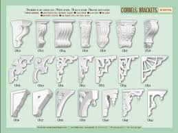 exterior architectural roof brackets components craftsman