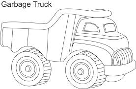 Dump Truck Coloring Pages Garbage Coloringstar Coloring Truck Pages