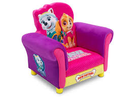Upholstered Chair by Paw Patrol Skye U0026 Everest Deluxe Upholstered Chair Walmart Canada