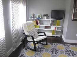 White Rocking Chair Nursery Furniture Nursery Rocking Chair To Complete The Room Nursery