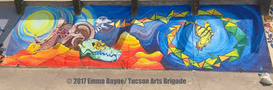 tucson mural arts program my mural is about rebirth and creativity it is a model of new life and holds personal significance in that i am starting on this new phase of life