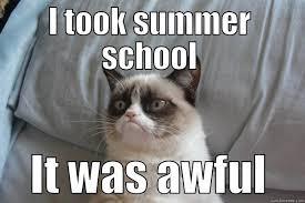 Summer School Meme - summer school grump quickmeme