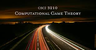 mohammad t irfan u0027s computational game theory course