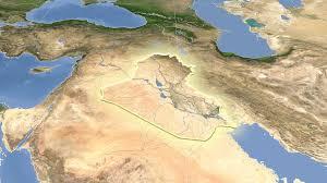 Map Iraq Iraq Grungy Hitech Map Outline Motion Background Videoblocks