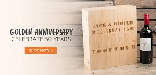 50 year anniversary gift wedding anniversary gifts ideas gettingpersonal co uk