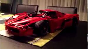 lego ferrari enzo lego ferrari enzo butterfly doors action youtube