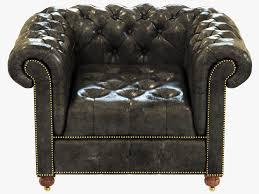 Leather Chair Restoration Restoration Hardware Cambridge Leather Chair 3d Model Max Obj 3ds
